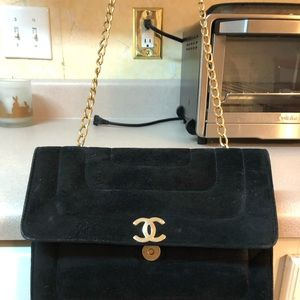 Vintage Chanel Gold Chain Bag
